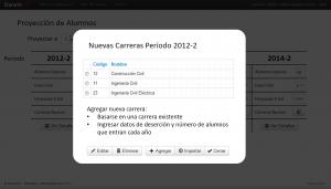 DarwinEd Screenshot: Managing courses