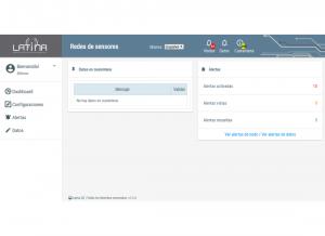 LatinaUC Screenshot: Dashboard
