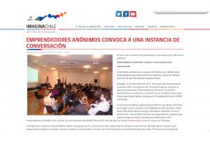EEAA: In Imagina Chile's website