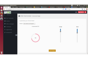 eGreen: Prototype customization for Tachometer