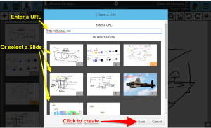 Sketchpad User Manual: Creating a Link