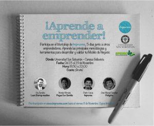 Impruvme Entrepreneurial workshop poster
