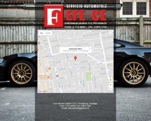 Efece Website Map
