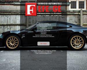 Efece Website Front