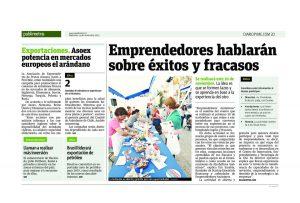 EEAA: In the newspaper Publimetro