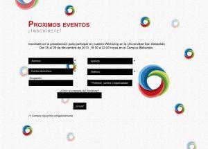 Impruvme: Website Screenshot workshop inscription