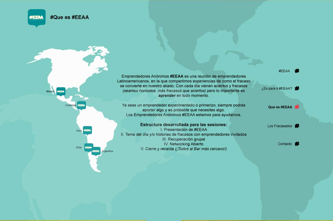 EEAA Website Screenshot: About EEAA