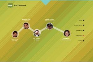 EEAA Website Screenshot: Team